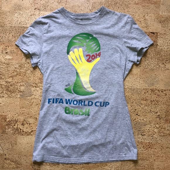 Adidas Official FIFA World Cup Tshirt ladies Small
